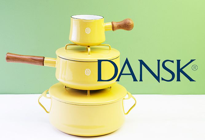 DANSK Kobenstyle mustard Yellow
