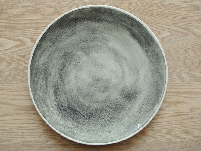 Wonki Ware _ORGANIC DINNER PLATE BLACK_003
