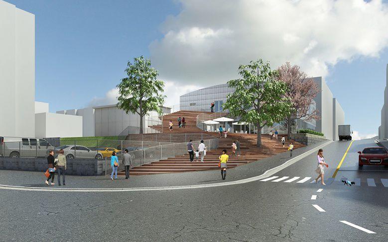神楽坂に新商業施設「la kagu(ラカグ)」オープン…デザイン監修は隈研吾