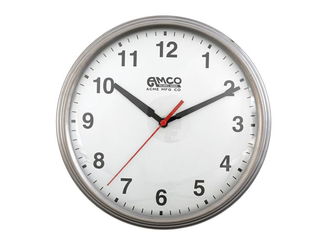AMCO CLOCK (SILVER) ACME FURNITURE
