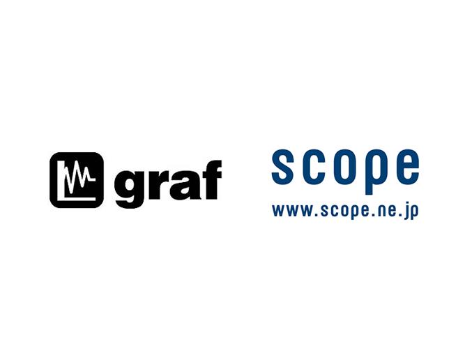graf × scopeの照明、スコープ別注のwaftペンダント