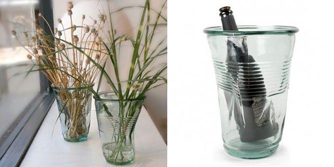 ROB BRANDT CRUSHED Vase