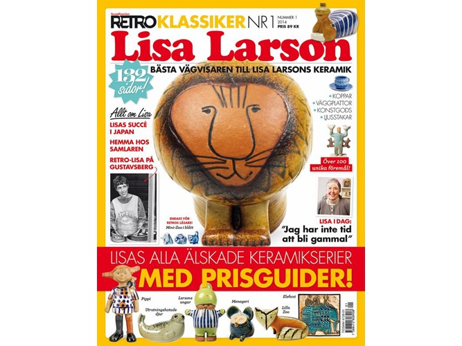 scandinavian retro Lisa Larson