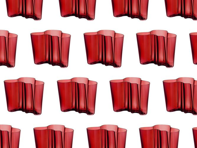 iittala cranberry red
