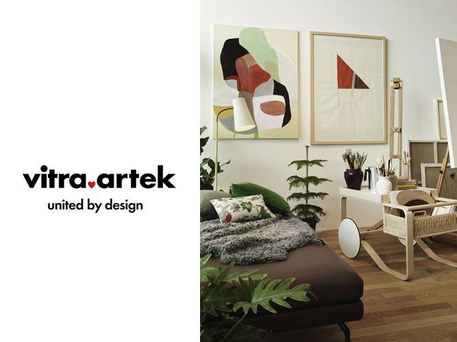 買収後初のVitra × Artek合同展