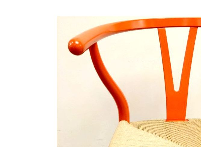 Y Chair CH24 Kyoto Red