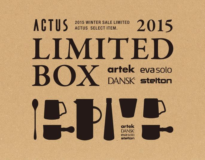 ACTUS 2015 LIMITED BOX