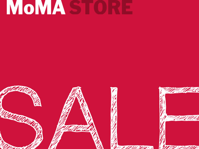 MoMA STORE Winter SALE 2014