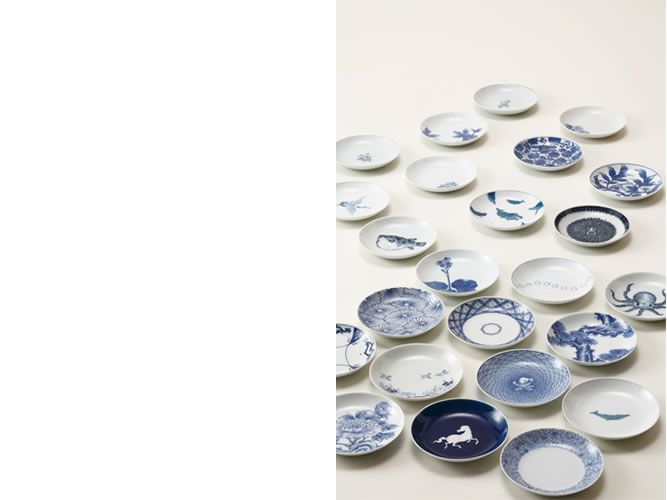 「1000枚の豆皿」と「うつわの福袋」