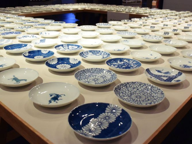 「1000枚の豆皿」展に行ってきました