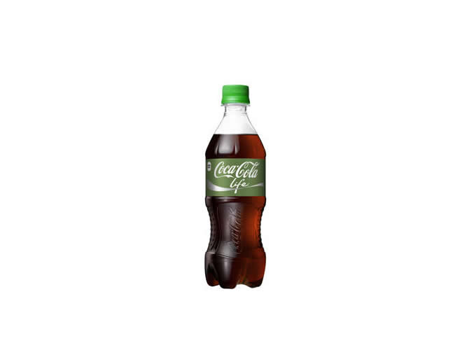 緑のコーラ「コカ・コーラ ライフ」 国内販売決定!