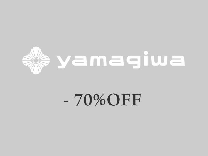 最大70%オフ!YAMAGIWA名古屋で「展示現品リニューアルセール」