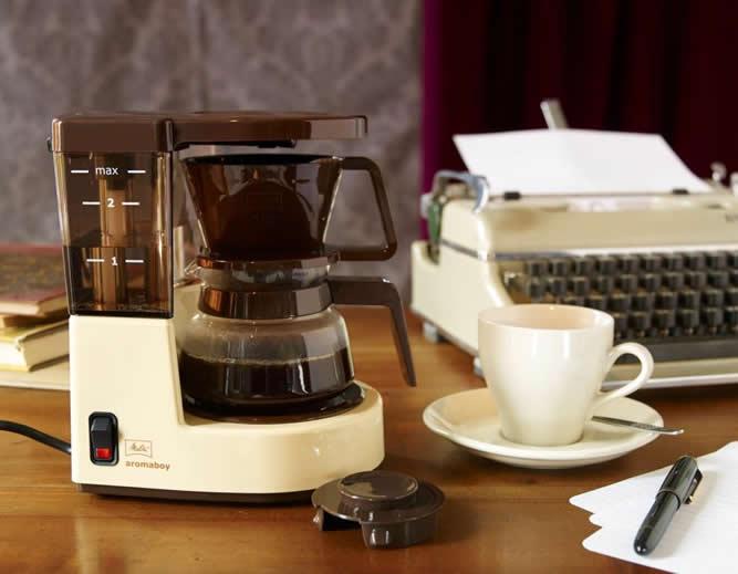 70年代のコーヒーメーカーが数量限定で復刻