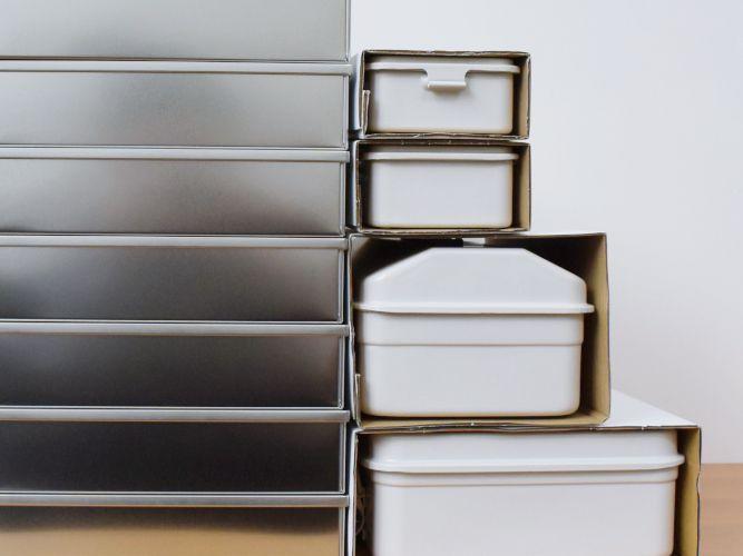 無印良品「BOX」展で買ったもの…スチール工具缶
