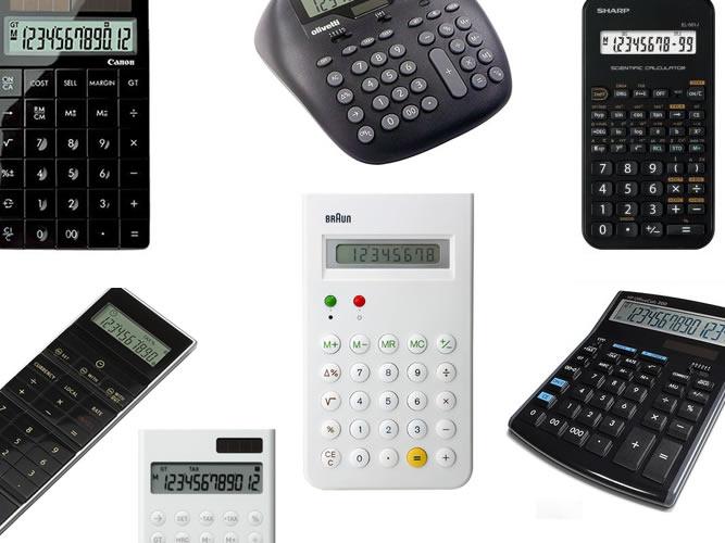 「グッドデザインな電卓27選」をまとめ直しました