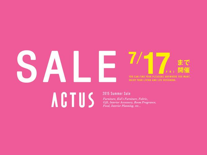 ACTUS SALE 201507