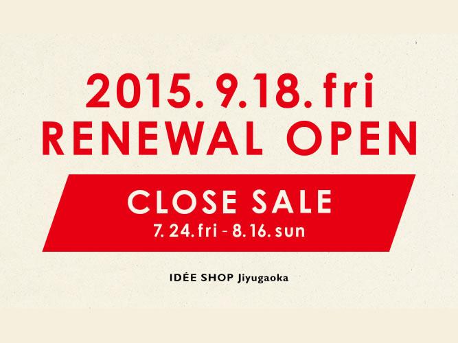 IDEE JIYUUGAOKA_closesale