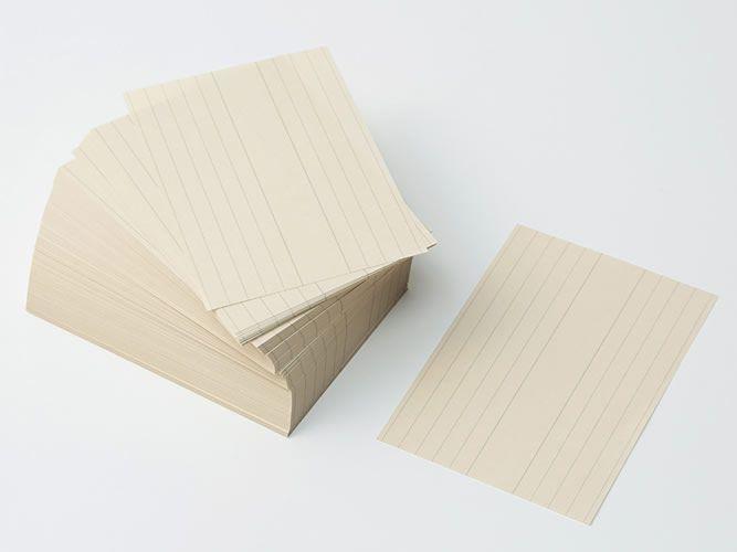 無印良品の便利なメモ帳