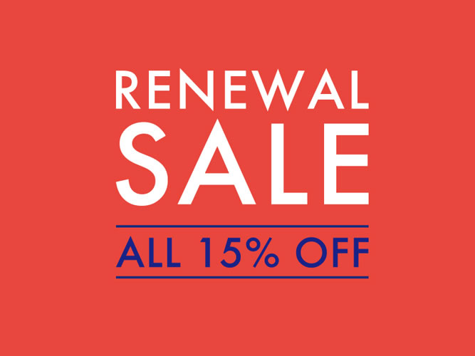 Renewal-Sale_Tha Conran Shop Shinjyuku