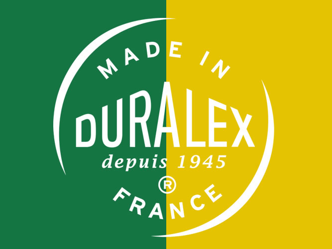 DURALEX70周年記念モデル、ゴールドとグリーンもありました