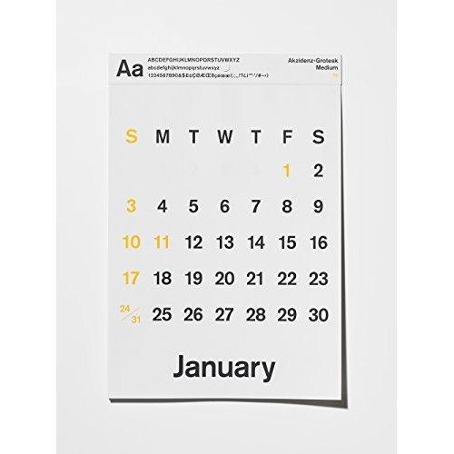2016年はドイツ生まれの書体