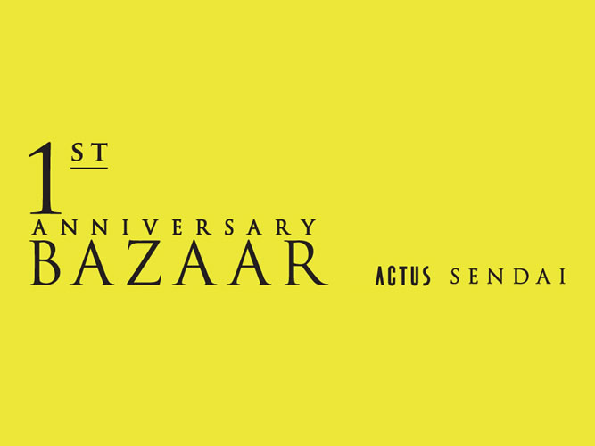 BAZAAR_ACTUS SENDAI