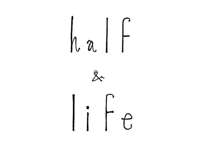 minä perhonenのスペシャルアイテム企画「half & life」