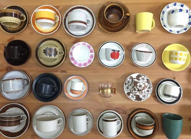 北欧ヴィンテージ食器がいっぱい!「北欧で見つけた、コーヒーがある暮らし」展