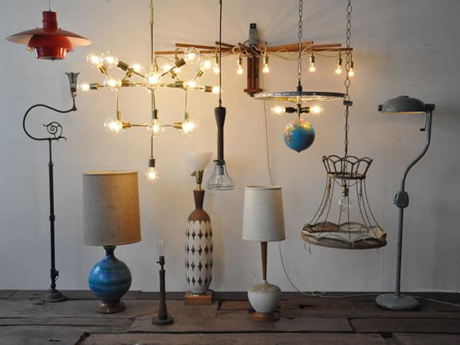 すべて1点物!カスタムランプの販売会「LAMP!LAMP!LAMP!フェア」