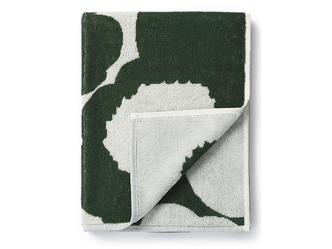 Unikko hand towel GREEN_002