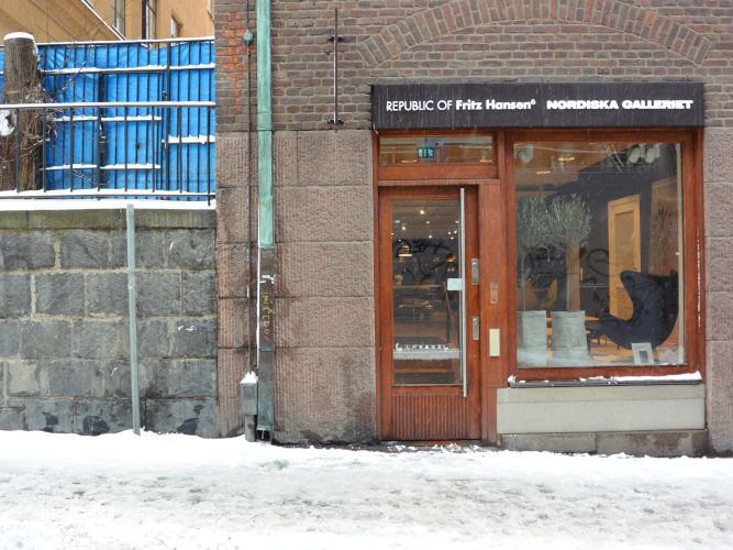 【スウェーデン旅行記5】ふらりと入ったNORDISKA GALLERIETで