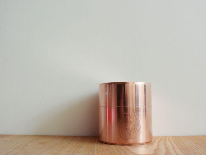 ミナペルホネン × 開化堂の茶筒