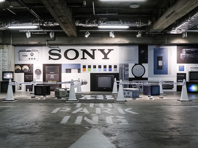 SONY THE PARKING GINZA_001
