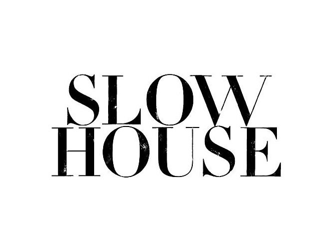 SLOW HOUSE logo