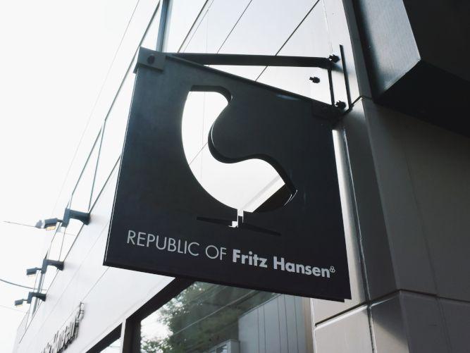 フリッツ・ハンセン青山本店に行ってきました