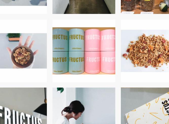 Fructusグラノーラ缶の松屋限定カラー販売中