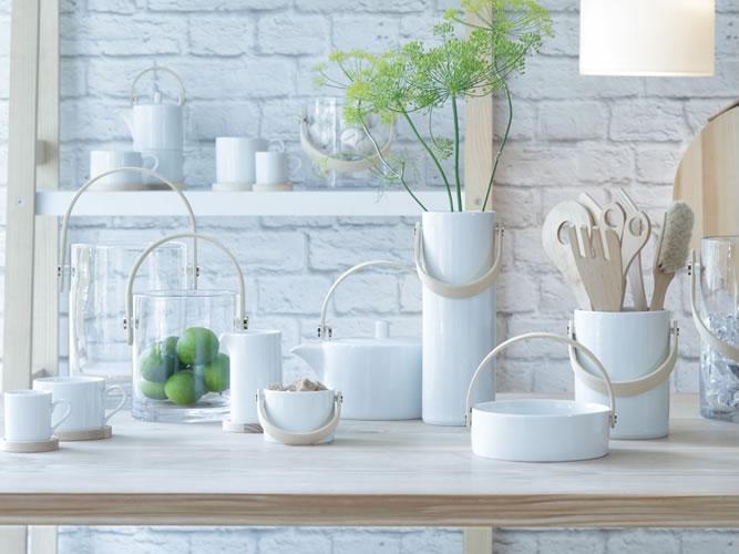 ハンドメイドのお手軽な「LSA international」の陶器 × 木材シリーズ