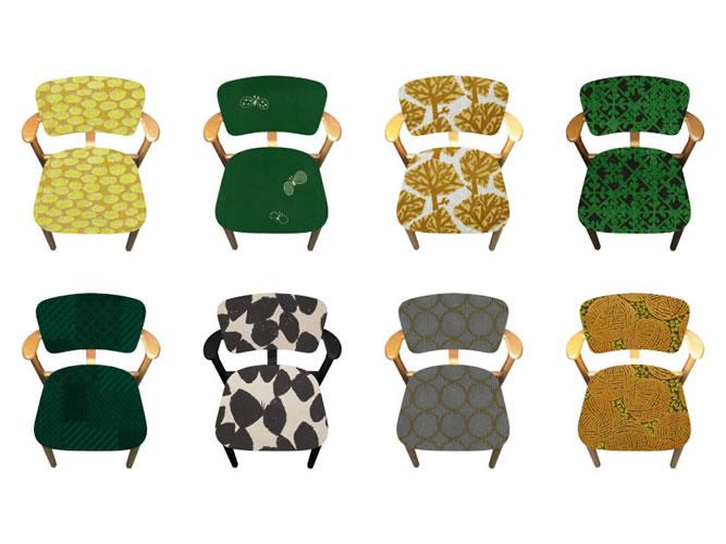 限定70台のミナ ペルホネン × ドムスチェアの特別モデル…と特別商品