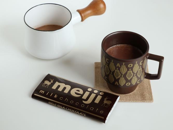 明治ミルクチョコレート × HASAMI × 中川政七商店コラボレーション!
