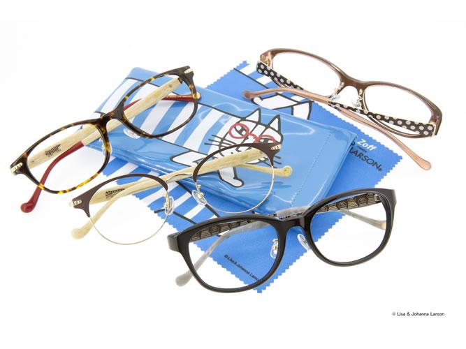 Zoffが世界初?のリサ・ラーソンのメガネ発売