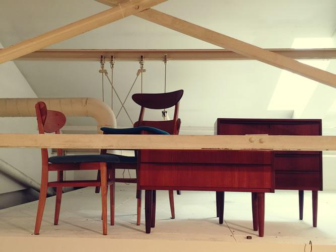 アクタス・スローハウスの3店舗で50年代ヴィンテージ家具のフェア「EURO 50′s vintage」