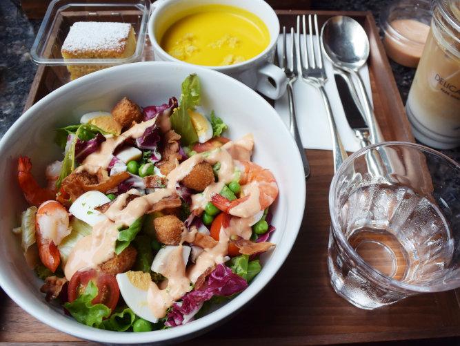 Cobb Salad park hyatt tokyo delicatessen_002