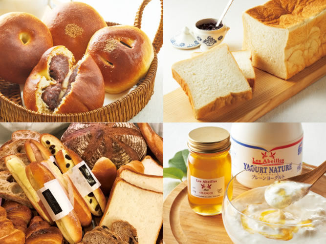 おいしいパンだらけの「心地よい朝からはじまるおいしい暮らし」が始まってました