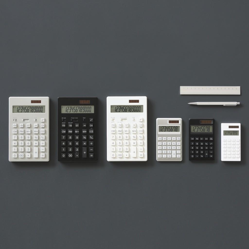 無印良品の「電卓 12桁」、ホワイトだけ安いのはなぜだろう…まさか…