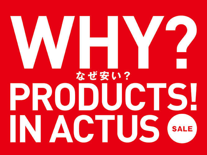 WHY PRODUCTS In ACTUS_001