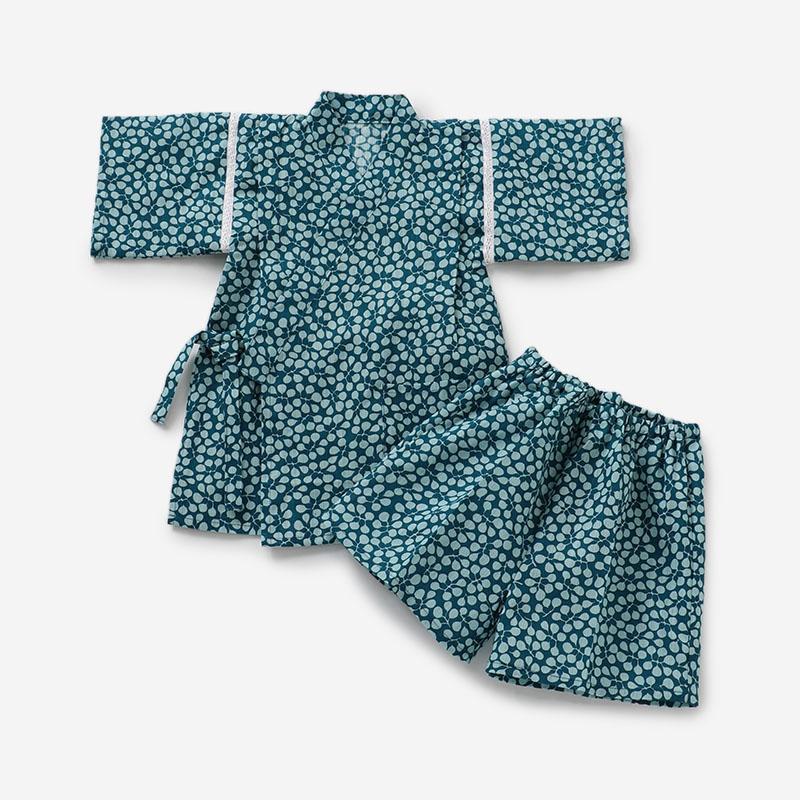 北欧のテキスタイルの浴衣