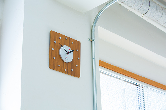 SAITO WOOD WALL CLOCK_001