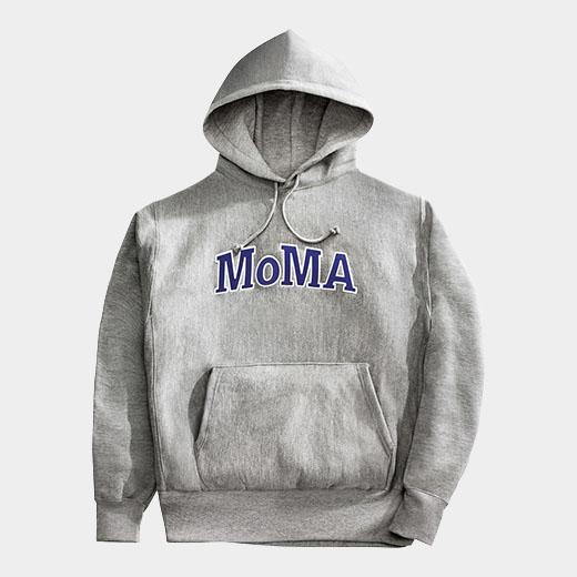 MoMA × チャンピオンのパーカー