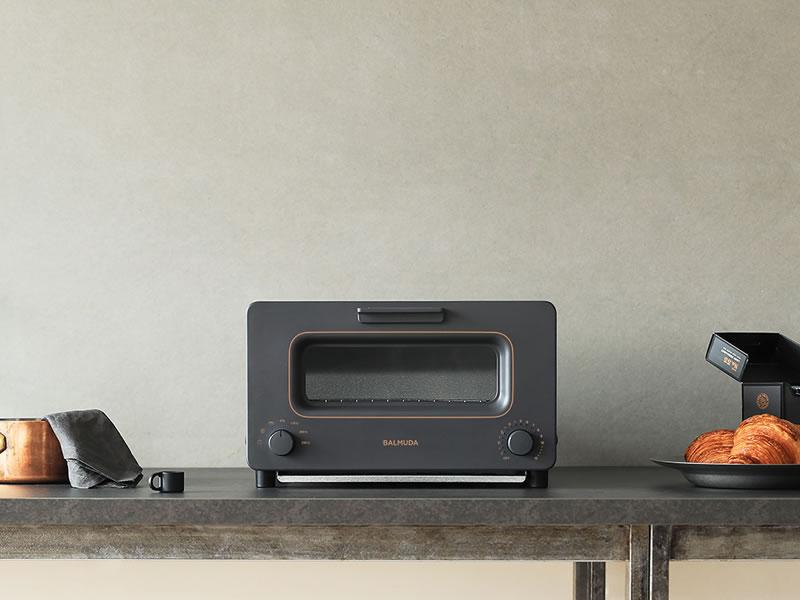 「BALMUDA The Toaster」に2017年秋冬限定カラー「チャコールグレー」登場