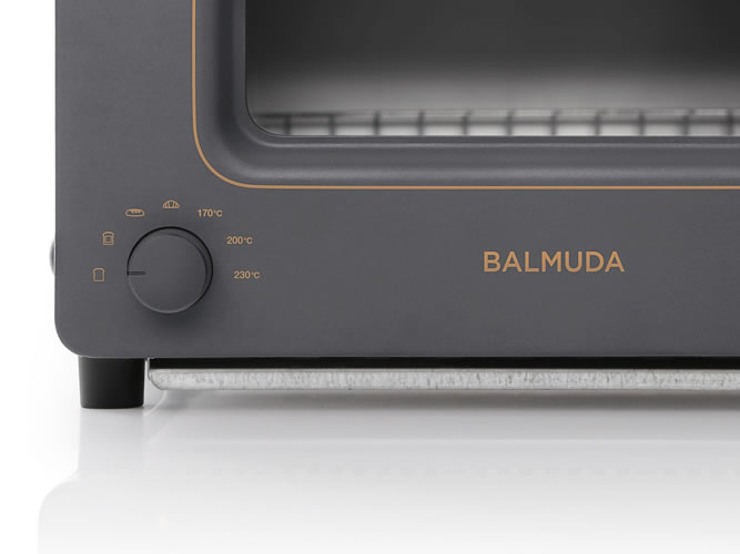 BALMUDA The Toaster Charcoal Gray_002